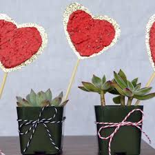 Homemade Valentines Day Gifts by Valentine U0027s Day Gifts Seed Paper Hearts Sunset