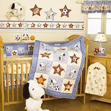 Snoopy Bed Set Bedtime Originals Ch Snoopy 4 Baby Crib