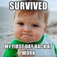 Back To Work Meme - back to work kix 101 1