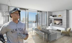 Aarons Rental Living Room Furniture Yankees U0027 Aaron Judge May Have Scored A Swanky Murray Hill