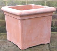 Square Planter Pots by Terracino Terracotta Pots Planters And Troughs Large Hand Made
