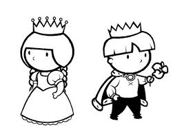 coloriages piphanie roi et reine