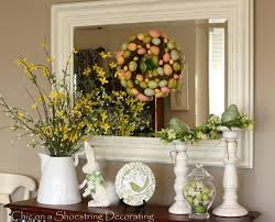 Easter Decorations Ideas With Mirror Easter Decorations Ideas And
