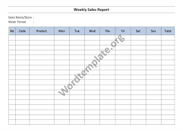 sales report template in pdf