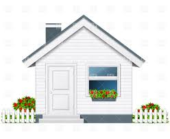 small country house with porch and flue vector image 9905 u2013 rfclipart