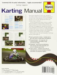 the karting manual the complete beginner u0027s guide to competitive