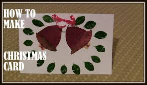 jingle bell art and craft for kids how to make christmas card