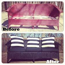 Can You Paint Wicker Chairs Best 25 Wicker Couch Ideas On Pinterest Wicker Sofa Sunroom