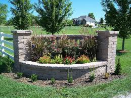 pictures of driveway entrances landscaping indian creek walls