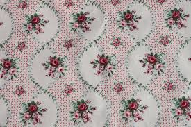 vintage laura ashley pink rose cotton fabric by the yard old