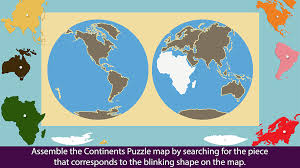 World Map With Continents And Oceans by Montessori Continents U0026 Oceans Android Apps On Google Play