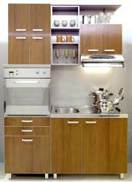 One Wall Kitchen Design by Brilliant One Kitchen Cabinet The For Design Ideas Intended For