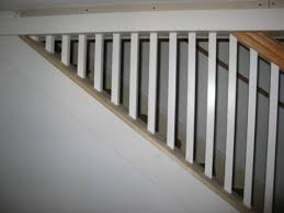 Replace Banister With Half Wall Half Wall Stair Railing A More Decor