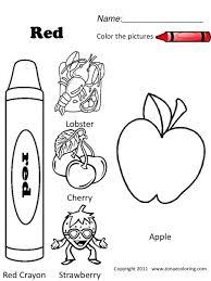 red crayon coloring page contegri com