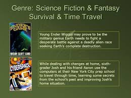 Seeking Genre Genre Science Fiction Science Fiction Themes