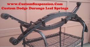 2000 dodge durango leaf springs dodge durango 1998 2003 custom 2 rear leaf springs pair