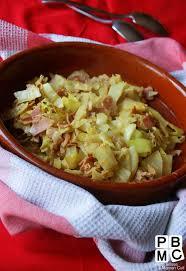 cuisiner le chou frisé chou vert frisé poêlé au jambon paperblog