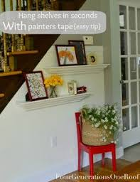 How To Hang Shelves by My Repurposed Life How To Make A Shelf With A Towel Rack Out Of