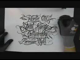 tattoo lettering pentel pen calligraphy writing pinterest