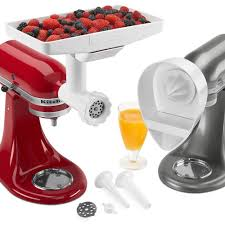 Kitchenaid Mixer Accessories by Amazon Kitchenaid Mixer Attachment Pack Food Grinder Citrus