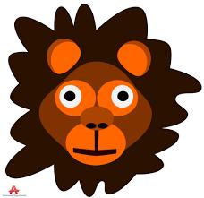 lion head cartoon free clipart design download