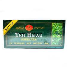 Teh Hijau teh hijau kepala djenggot 25teabags indolaras