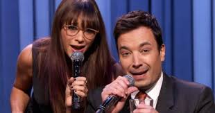 rashida jones and jimmy fallon just expertly parodied