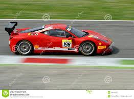 Ferrari 458 Challenge - ferrari 458 challenge evo car on monza track ferrari challenge