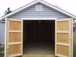 fresh simple car shed door designs 15934