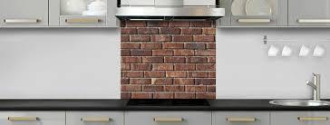 briques cuisine crédence de cuisine briques anciennes rouges c macredence com
