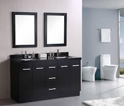 48 In Bathroom Vanity Combo Vintage White Vanity Combo Sink On Brown Harwood Floor Also Wooden