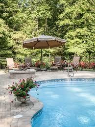 backyard pool landscaping backyard pool landscaping ideas houzz