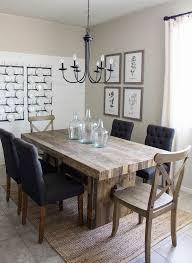 Rustic Modern Dining Room Tables Gavin Rustic Dining Set Modern - Modern dining room
