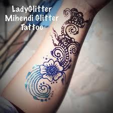 ladyglitter mihendi glitter tattoos