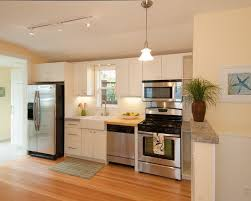 one wall kitchen with island designs inspiring one wall kitchen floor plans charming lighting with one