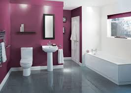 Bathroom Wall Colors Ideas Cool 30 Purple Bathroom 2017 Decorating Inspiration Of Best 25