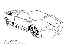 Cars Coloring Pages Colouring Pages Of Cars