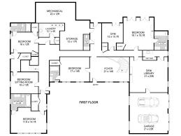 house u shaped house plans with pool