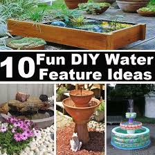triyae com u003d homemade backyard water features various design