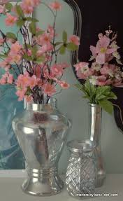 How To Make A Mercury Glass Vase Sparkling Diy Mercury Glass Vases