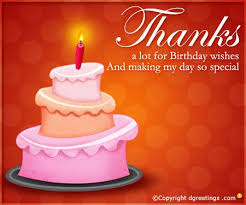 sample thank you notes for birthday wishes ideas how write happy