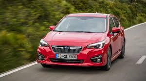 hatchback subaru red 2017 subaru impreza review top gear