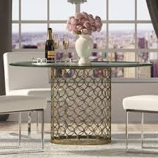 Round Kitchen Table Sets For 6 by 6 Seat Round Kitchen U0026 Dining Tables You U0027ll Love Wayfair