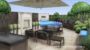 Terrasse Ideen Modern Gestalten Terrassengestaltung Gempp Gartendesign