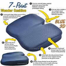 Office Chair Cushions Medipaq Freedom Wedge Cushion Great For Coccyx Relief Lumbar
