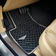 diamond bentley bentley mulsanne speed custom diamond leather floor mats w logo