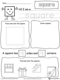 triangle shapes printable worksheets color pictures