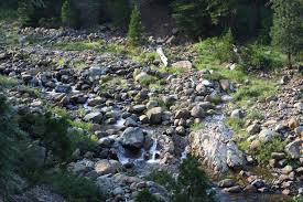 Rock Slides Will Remain Common Because Of The Significant Snowpack November 2013 Hike Mt Shasta