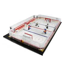 nhl fan shop toys oyo sports nhl buildable game day rink set