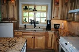 hickory cabinets with granite countertops hickory cabinets with granite countertops with cream cabinets
